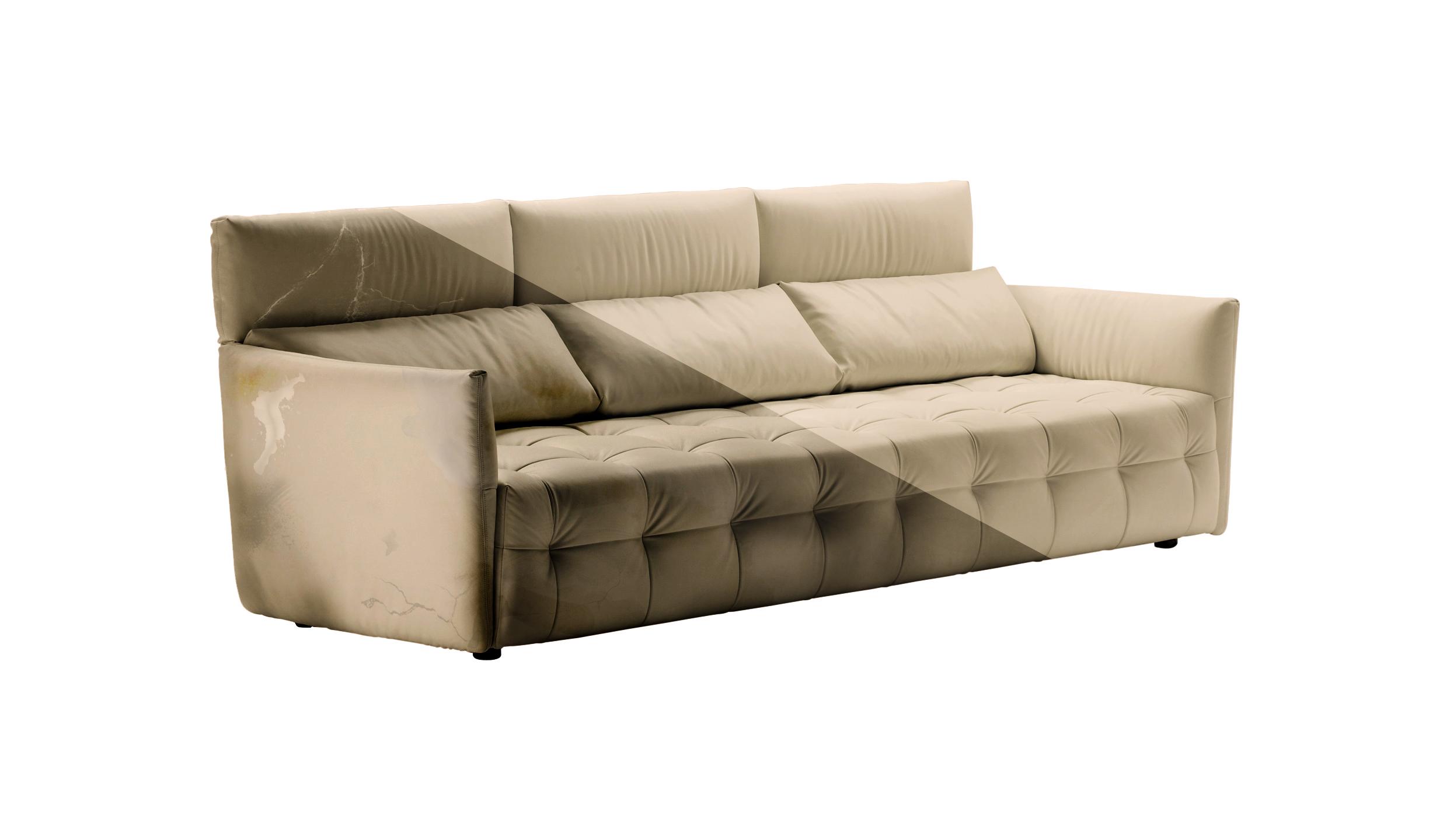 Divani stoffa pulizia idee per il design della casa - Prodotti per pulire il divano in tessuto ...